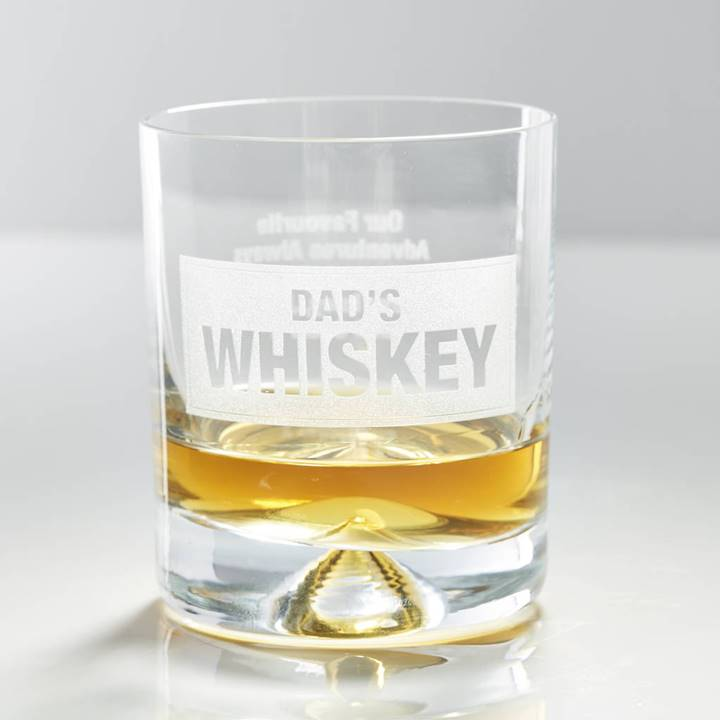 Win a Personalised Whiskey Glass