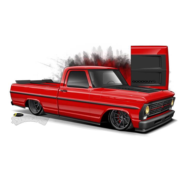 Win a Fully Customized 1969 Ford GRT-100 Truck