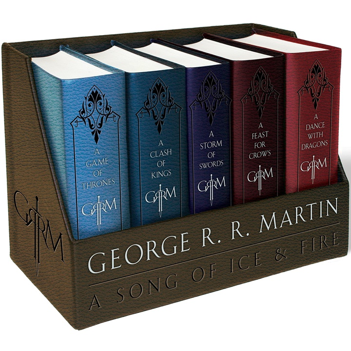Win a Game of Thrones Box Set (Leatherbound) ; Kindle Fire