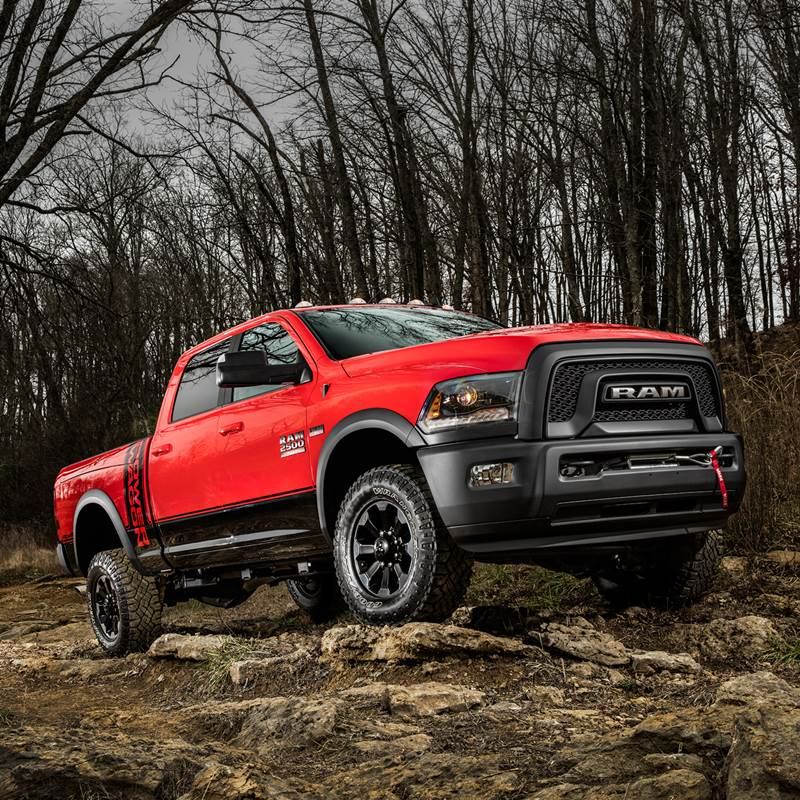 Win a 2017 Ram 2500 Power Wagon® pickup truck