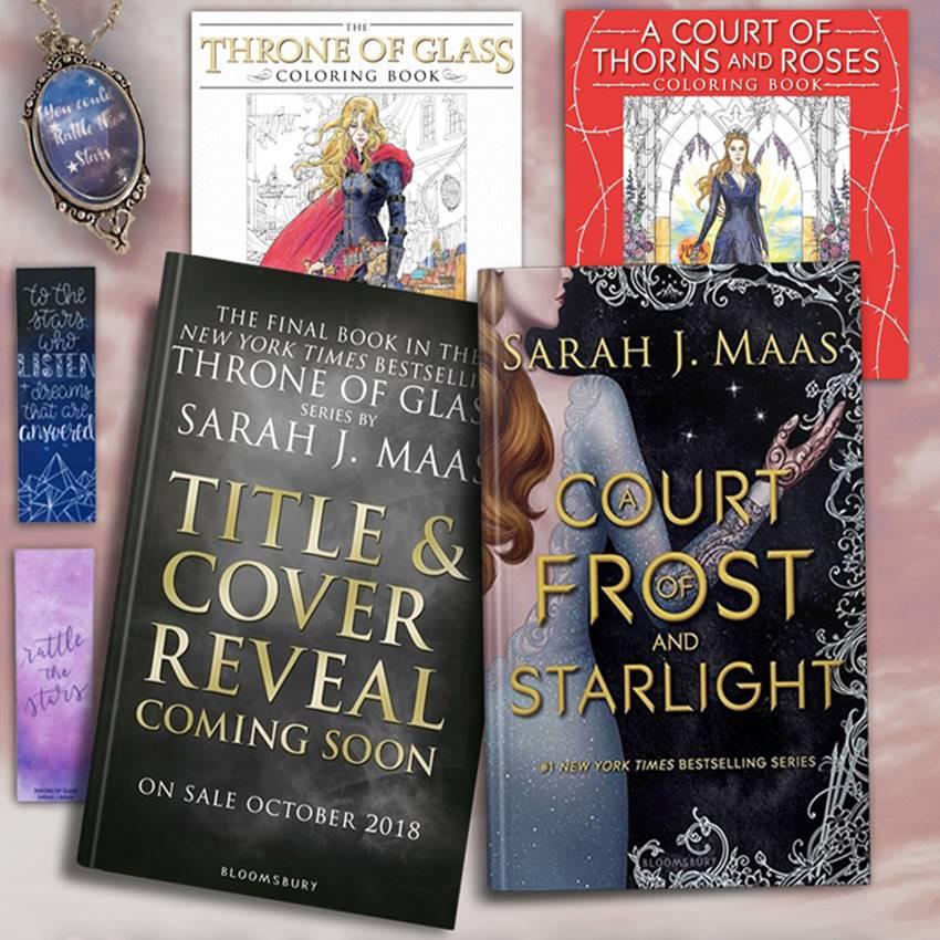 Win a Sarah J Maas YA Fantasy Books