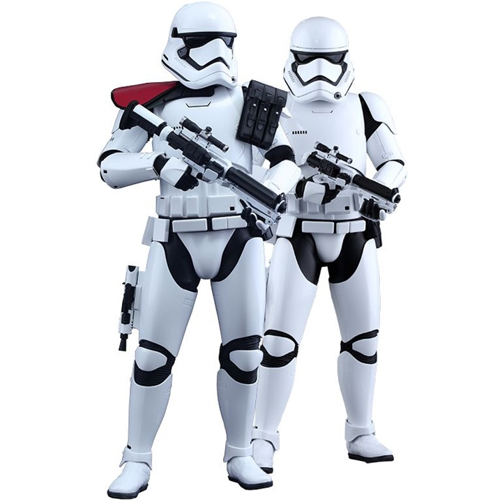 Win a Hot Toys First Order Stormtrooper Sixth Scale Figure Set