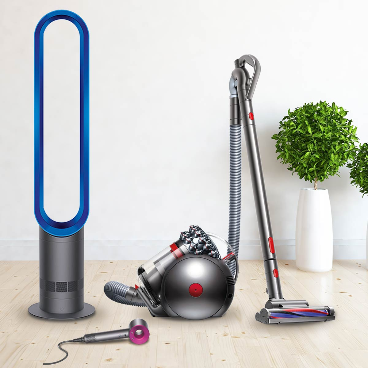 Clean up with $5,000 worth of Dyson products.