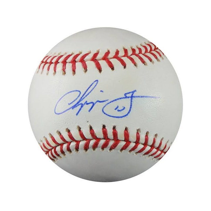 Win a Chipper Jones Autograph Baseball