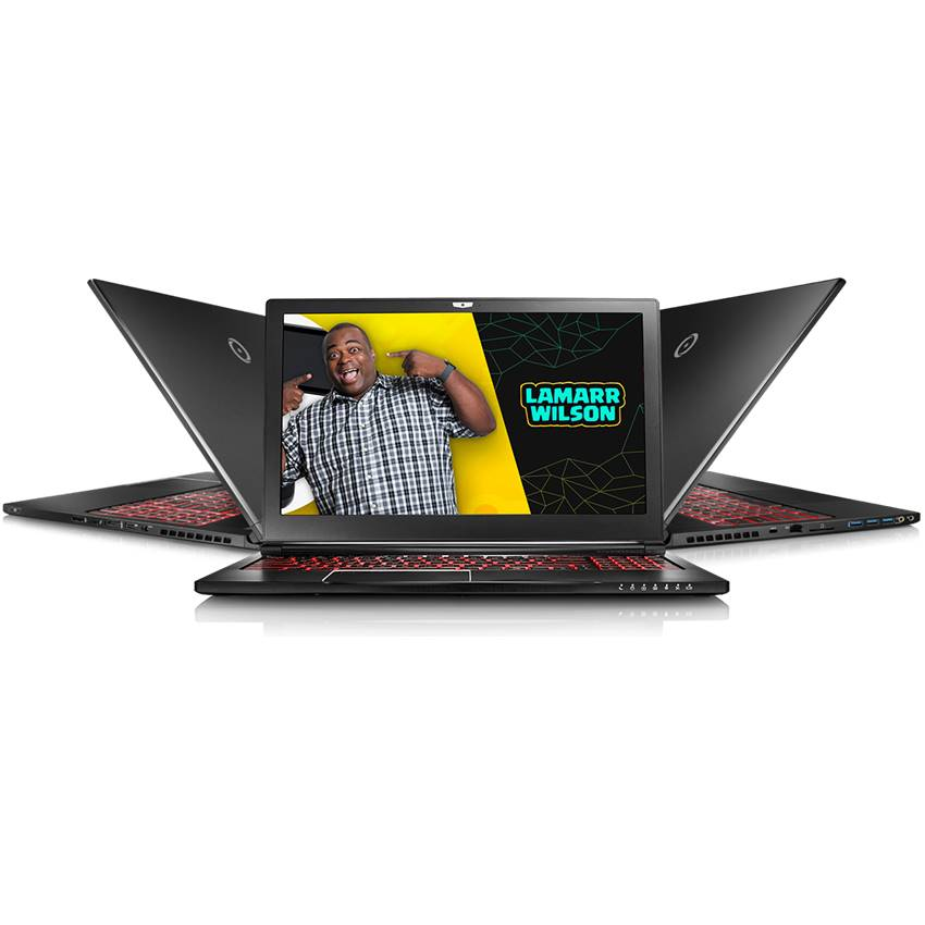 Win ORIGIN PC & Lamarr's World-Wide EVO15-S Laptop