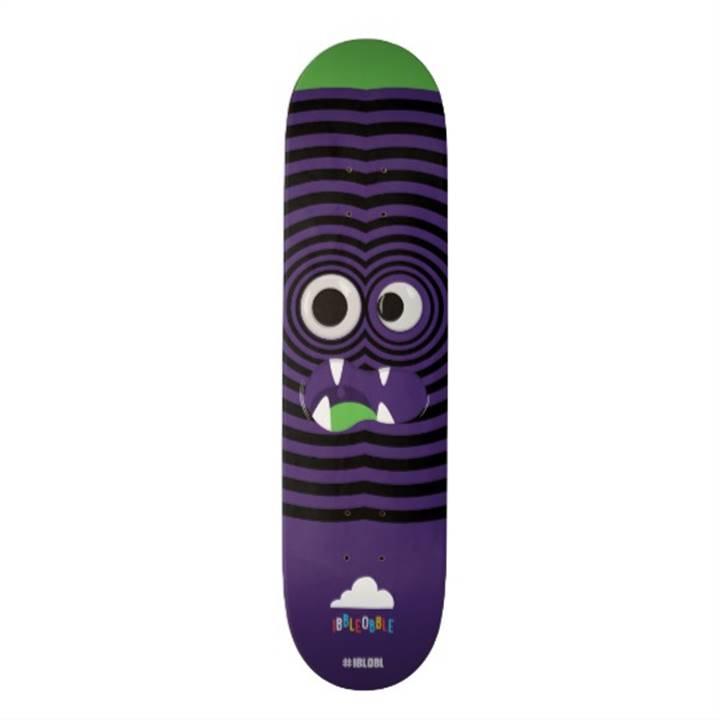Win a Ibbleobble Googly Eyes Skateboard Deck