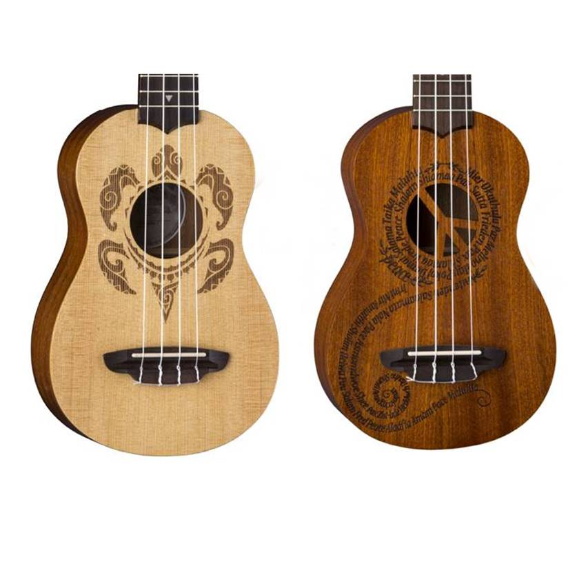 Win one of these awesome Luna Ukes!