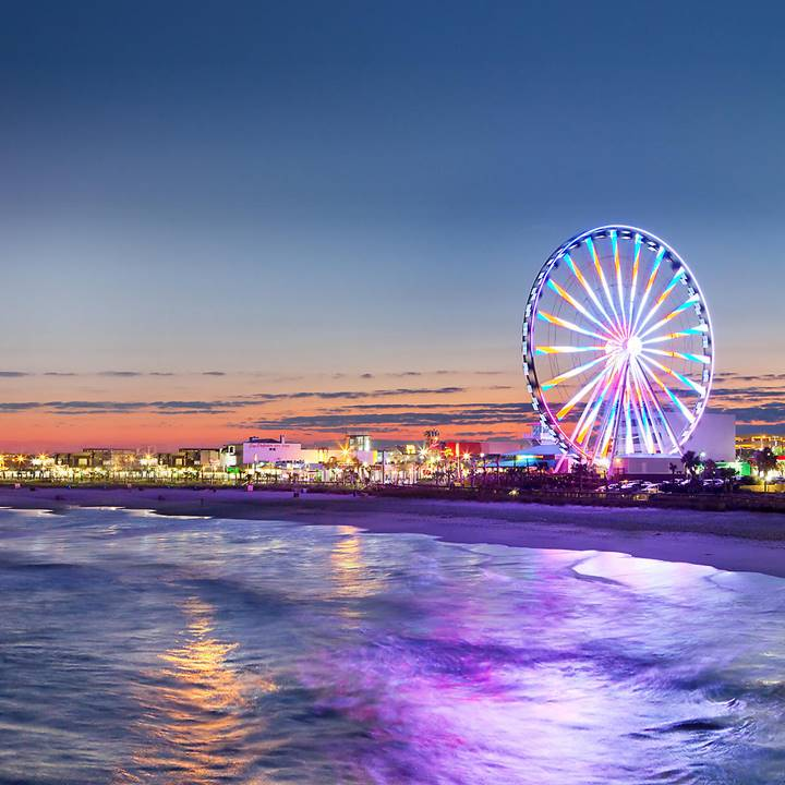 Win a Trip for four people to Myrtle Beach, South Carolina