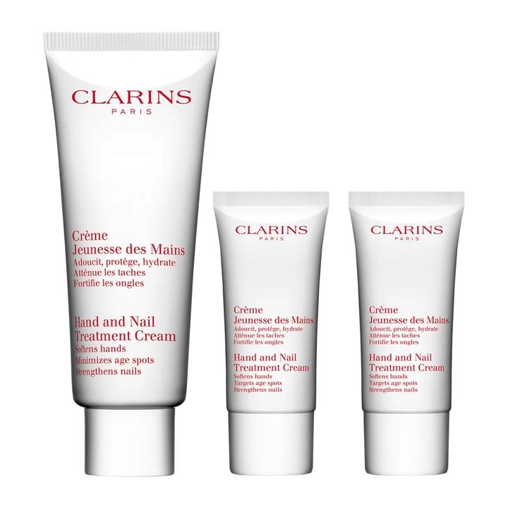 Win a Clarins Hand & Nail Treatment Trio