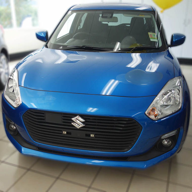 Drive away in a brand new Suzuki!