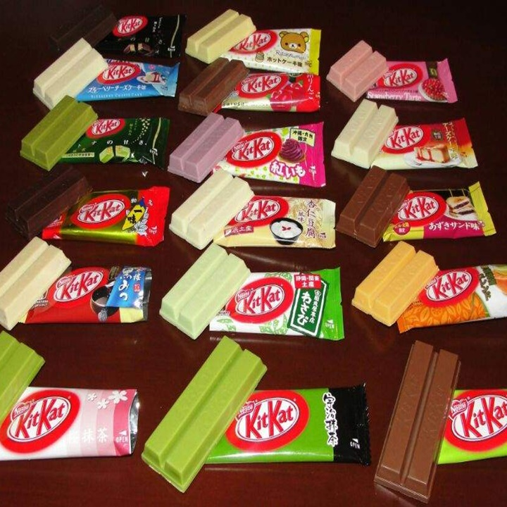 Win a 15+ Different Japanese Kit Kat Flavors