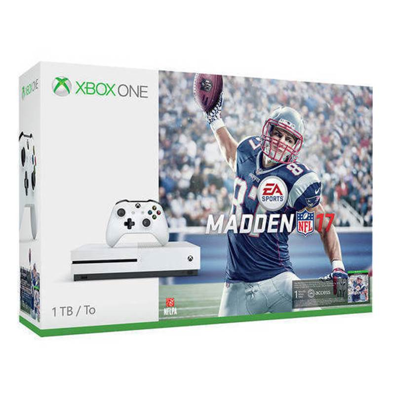Win a Microsoft XBOX One S