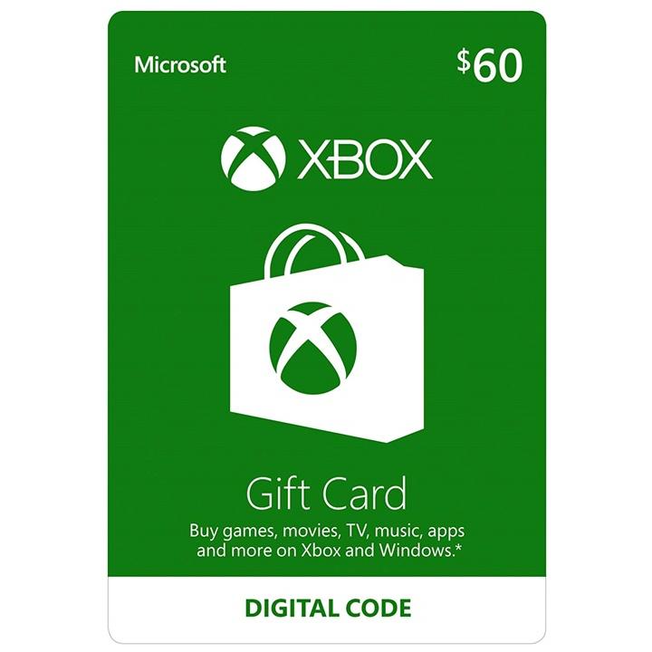 Win a $60 Xbox Gift Card