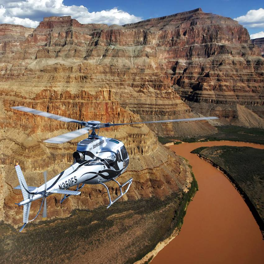 Win a Grand Canyon Helicopter Holiday, thanks to Tomorro!