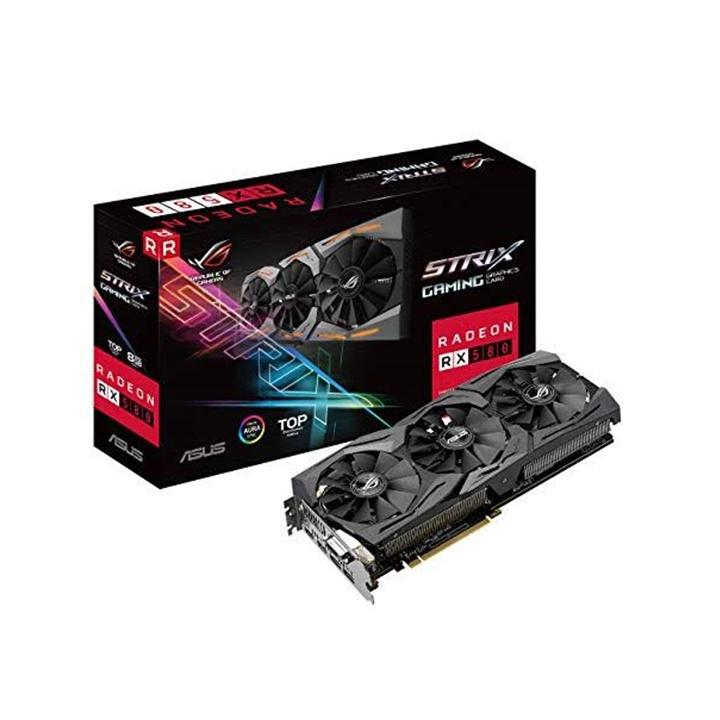 Win a ASUS ROG Strix Radeon RX 580 8G Gaming AMD Graphics Card