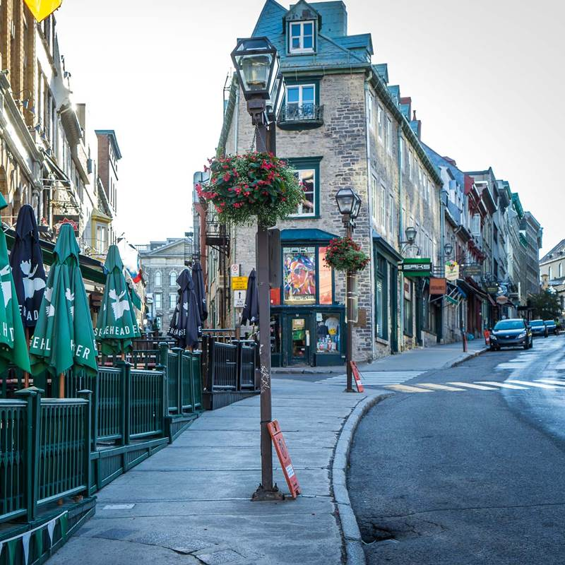 Win a trip for 2 to Quebec, Canada