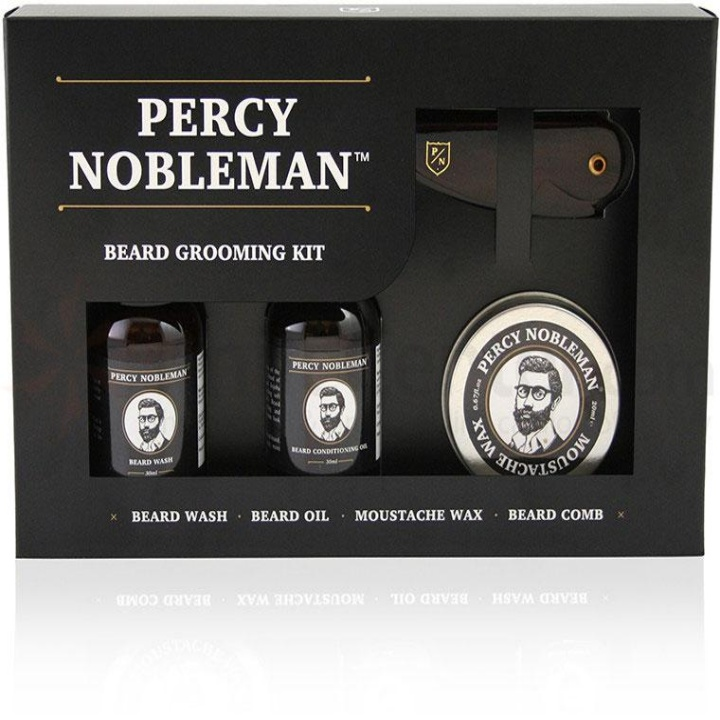 Win a Percy Nobleman Beard Grooming Kit