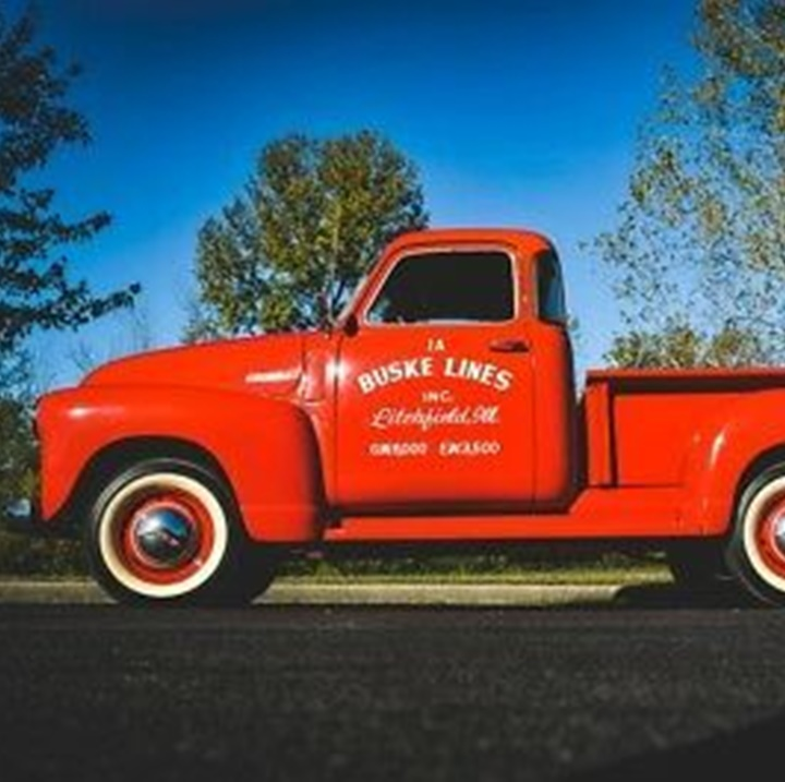 Win a $25,000 Vintage 1947 Chevy Red Truck