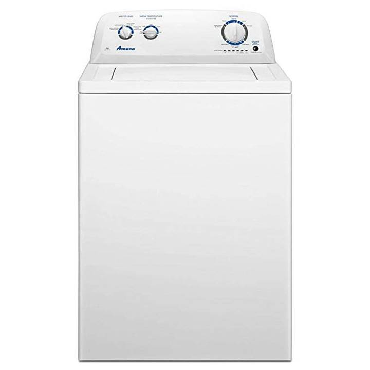 Win a Amana Top-Loading Washer or Amazon Gift Card