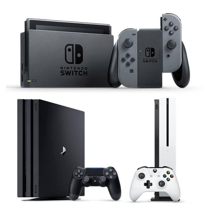 Win Your Choice Of A PlayStation 4 Pro, Xbox One S, Or Nintendo Switch Game Console