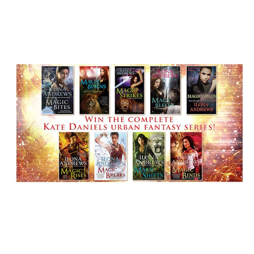WIN the 9-book Kate Daniels Urban Fantasy Series!