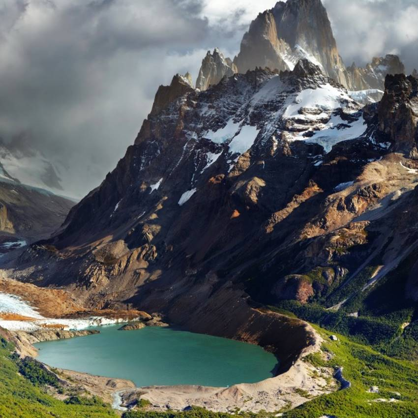 Win a trip to Patagonia Soaring Mountains