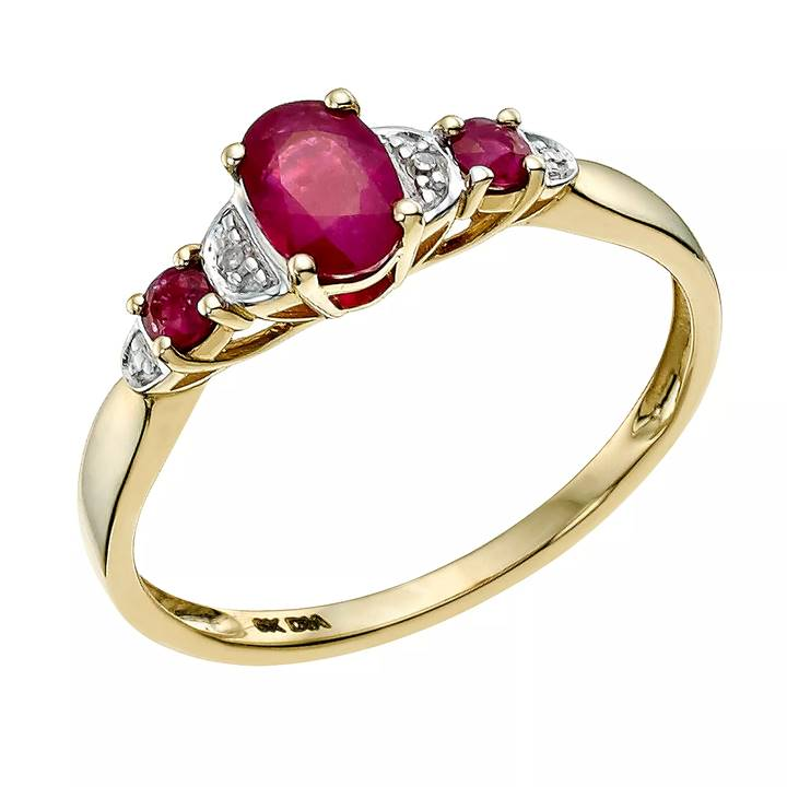 Win a Diamond & Ruby Ring