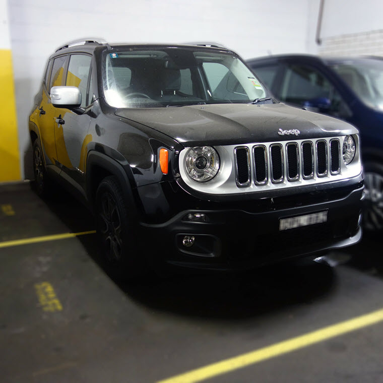 Drive away in a brand new Jeep!