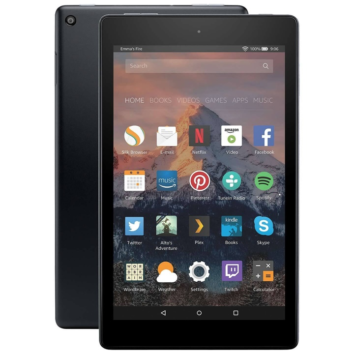 Win a Amazon Fire HD 8 Tablet + Kindle Unlimited