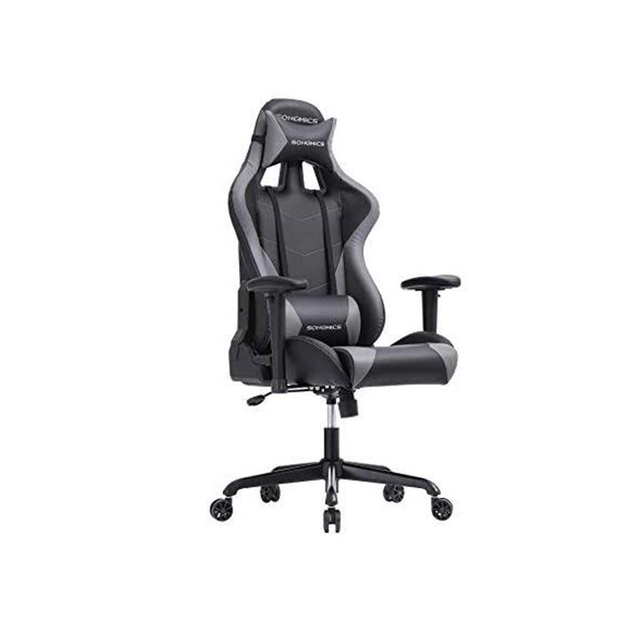 Win a Silla Songmics Gaming Black & White Chair