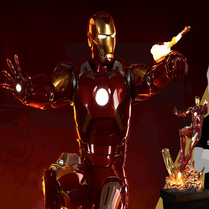 Win a Iron Man Mark VII Maquette