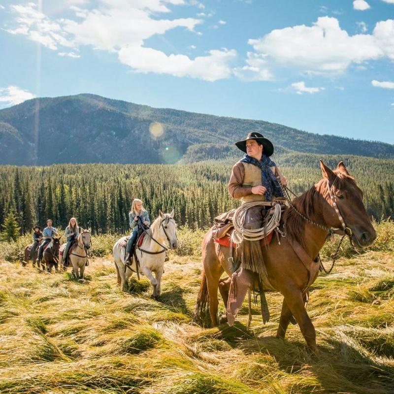 Win a Canadian Rockies Horseback Riding Experience