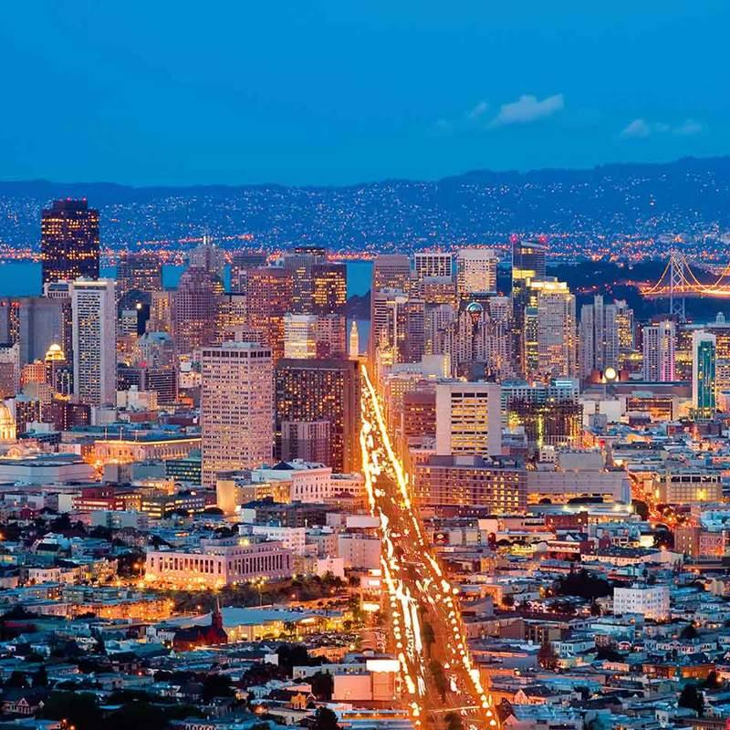 Win a Airfares to San Francisco