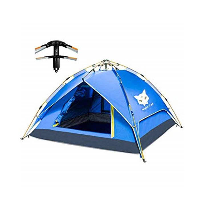 Win a Night Cat 3-4 Person Automatic Camping Tent