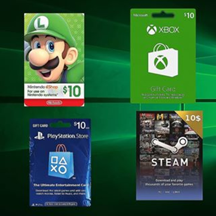 Win a 15$ Xbox or PSN or Steam or Nintendo Gift Card