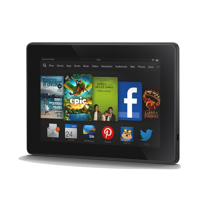 Win a Kindle Fire Loaded with PNR/UF Books