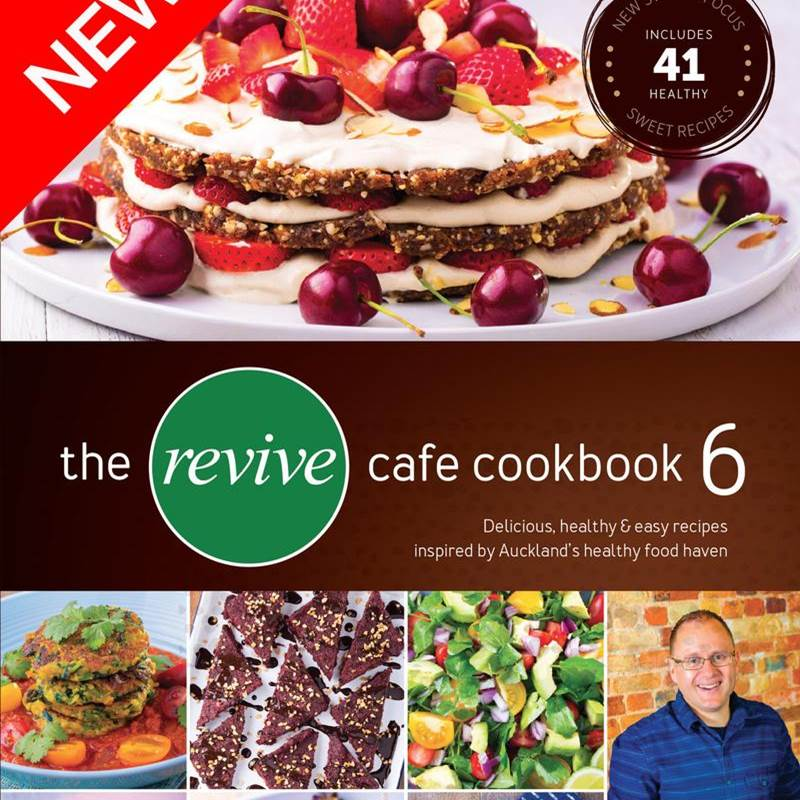 Win a The Revive Cafe Cookbook 6