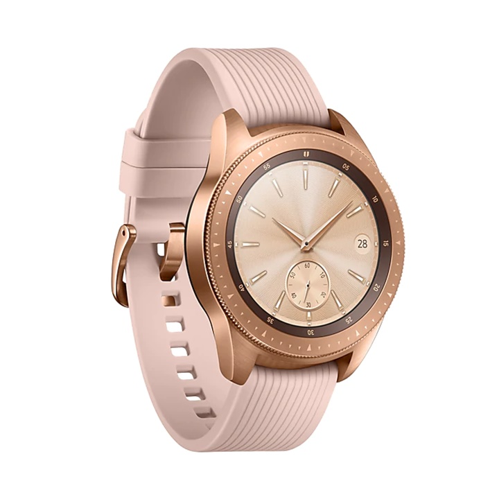 Win a Samsung Galaxy Smartwatch (42mm) Rose Gold (Bluetooth), SM-R810