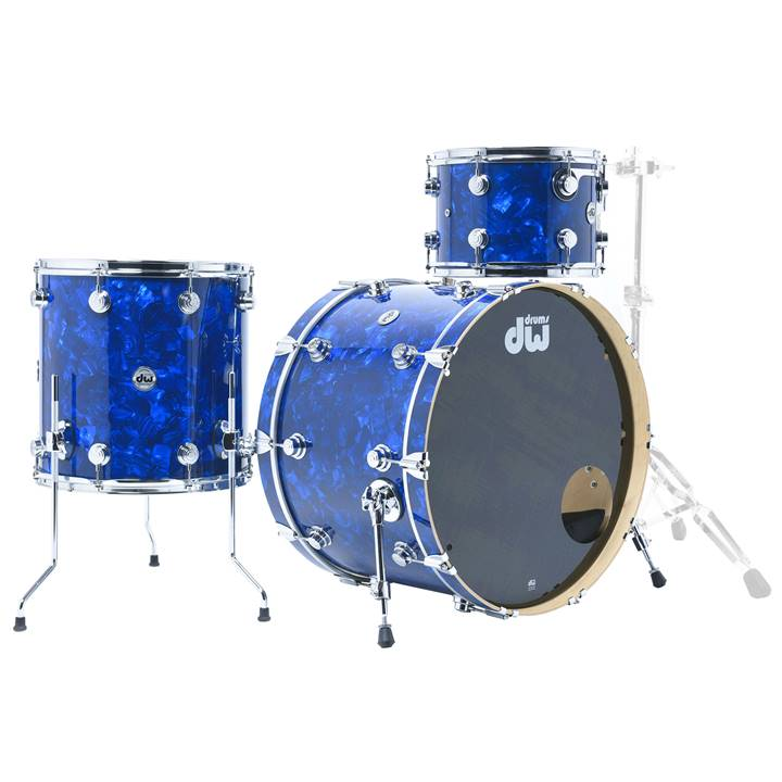 Win a DW Collector's series 3-piece Maple Shell Pack Drum Kit