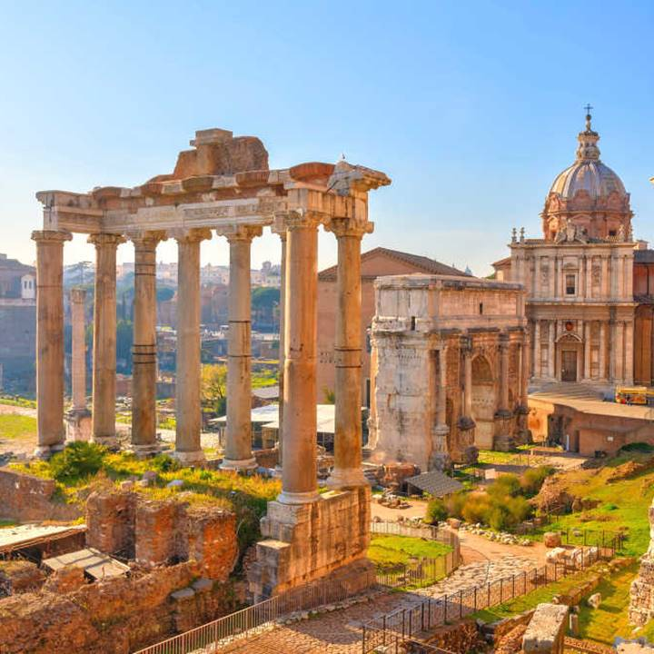 Win a tour to Rome - City and Empire