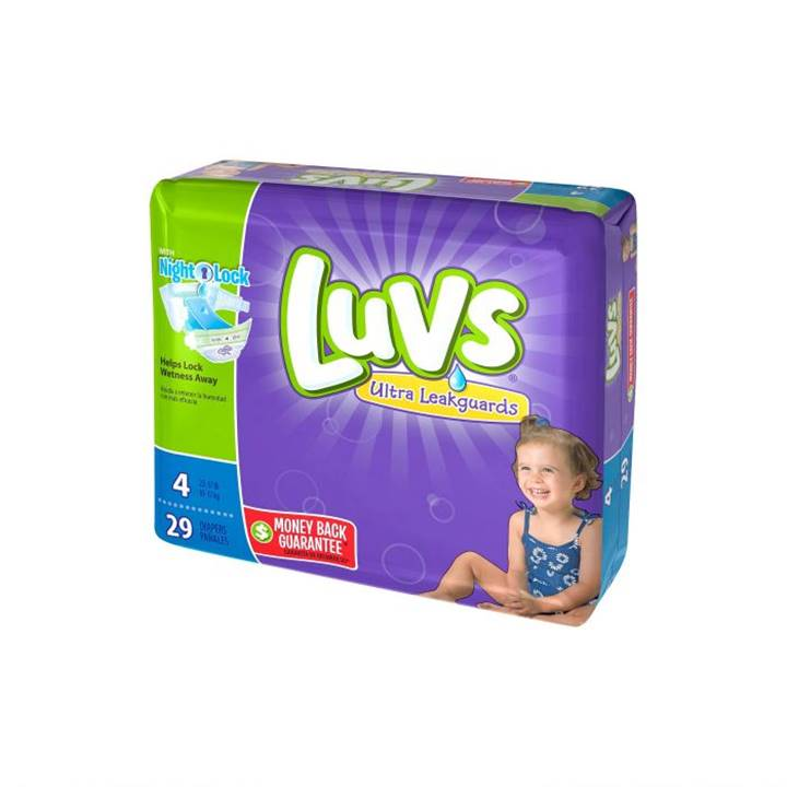 Win a Year's Supply of Luvs Diapers