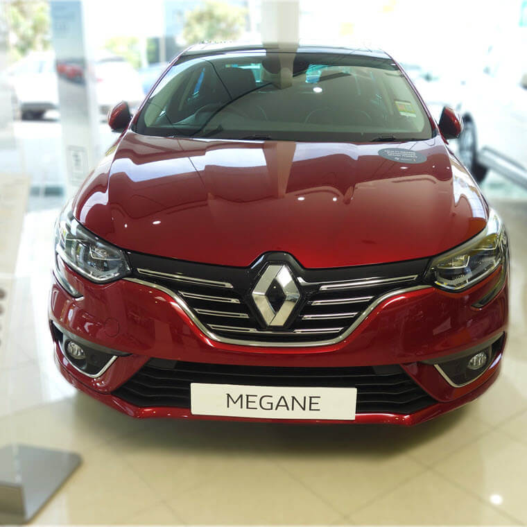 Drive away in a brand new Renault!