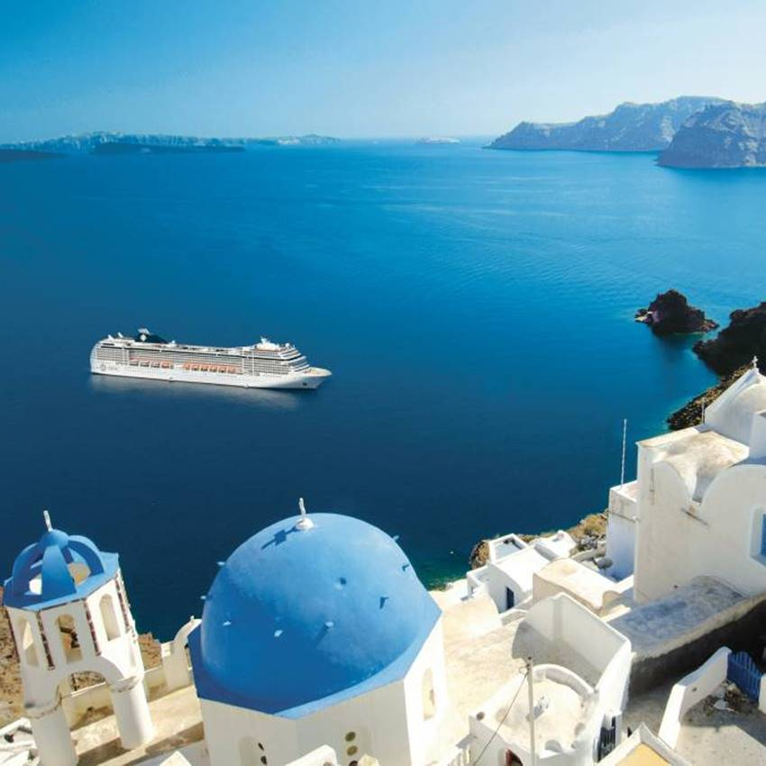 Win a 5 Night Mediterranean Cruise