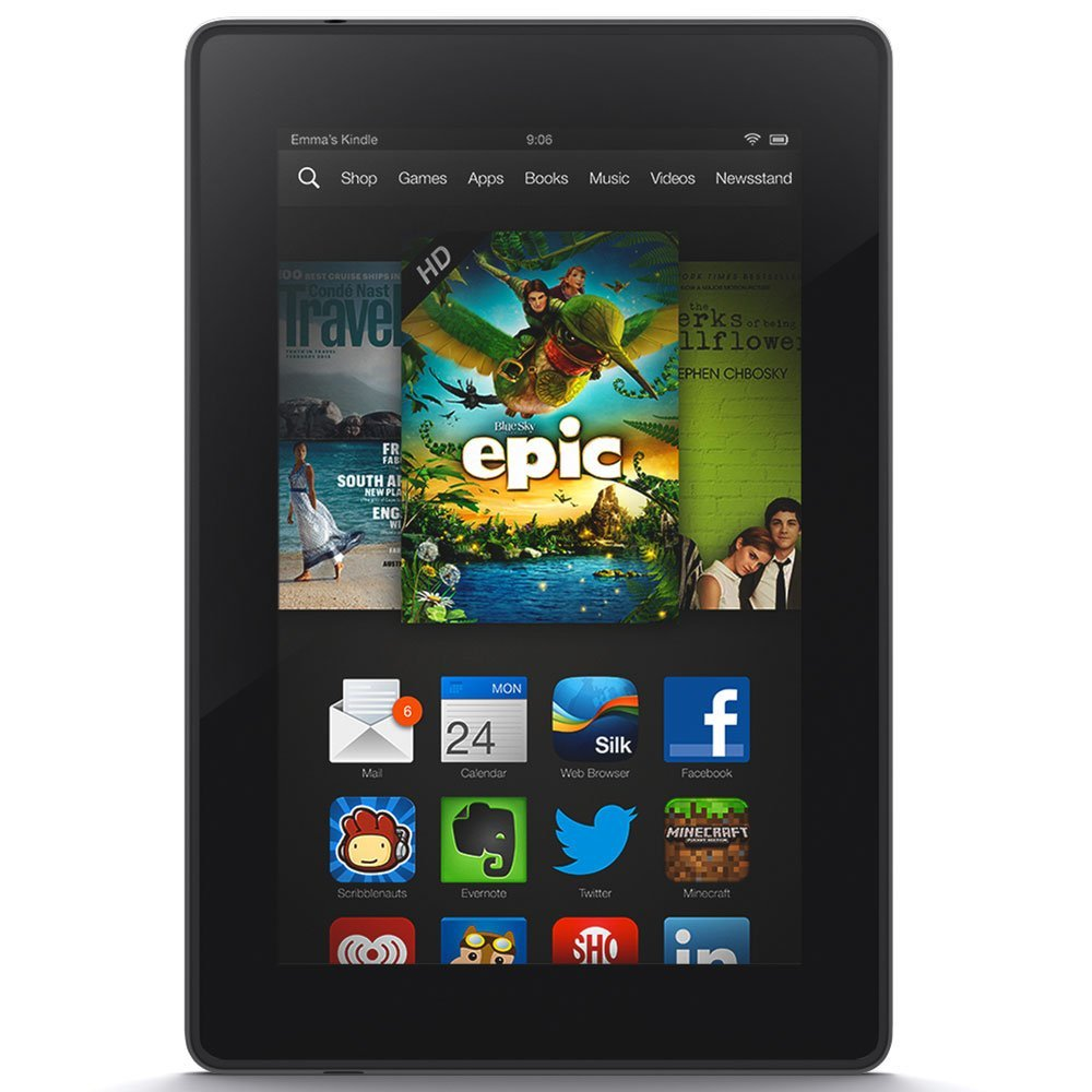 Win a Kindle Fire and a $50 Amazon Gift Card!