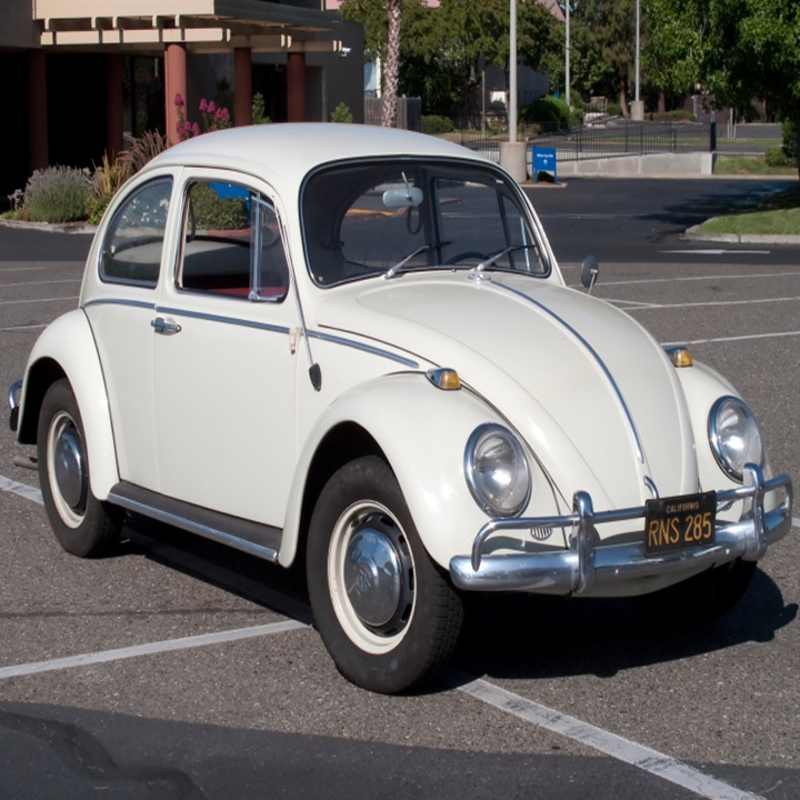 Win a 1965 Convertible Beetle with a Tesla Battery