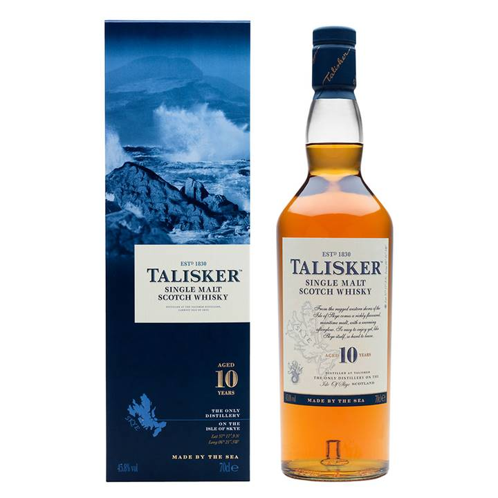 Win a Highly-Collectible Bottle of Talisker Single Malt Whisky