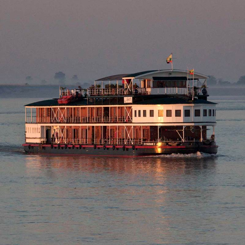 Win a Cruise to Irrawaddy River