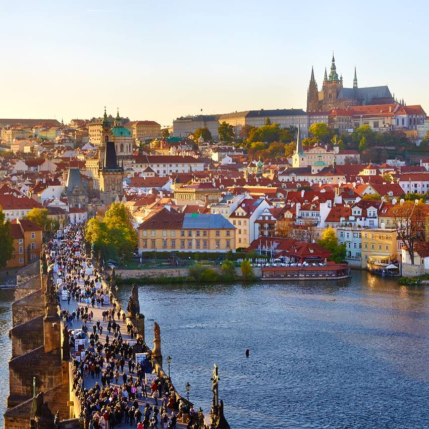 Win a luxurious holiday in Prague!