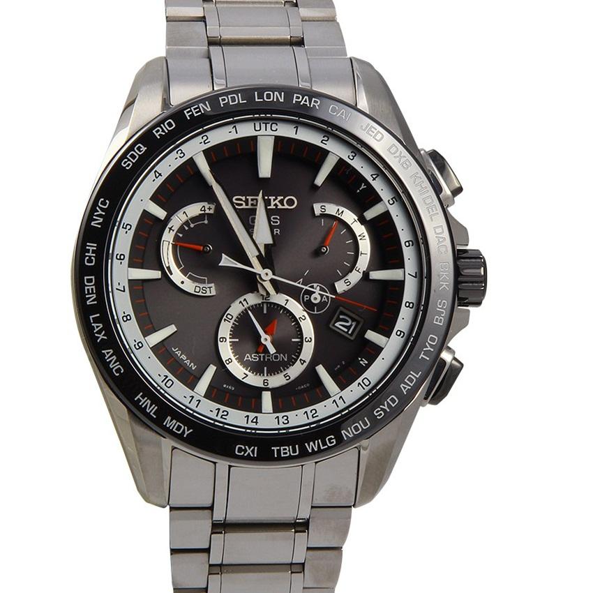Win A SEIKO Astron GPS Solar Dual Time Watch