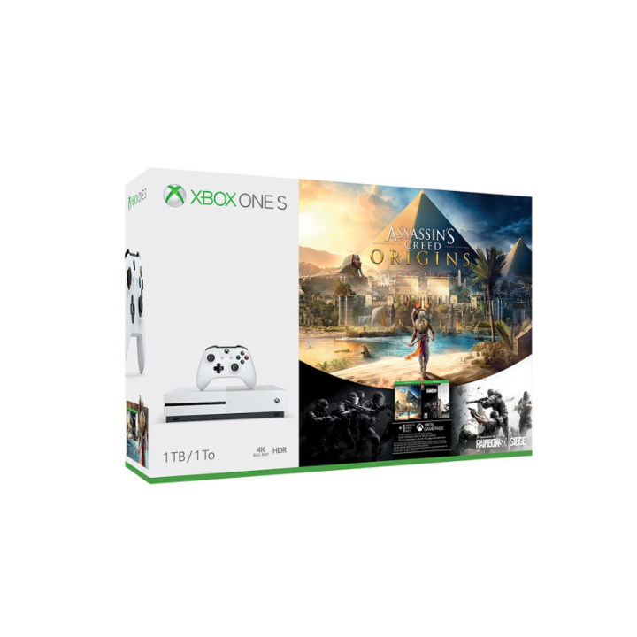 Win a Xbox One X console bundle, and more.